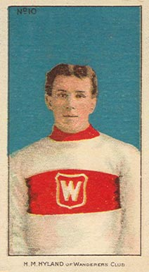 1910-11 Imperial Harry Hyland #10 Hockey Card