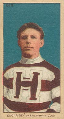 1910-11 Imperial Edgar Dey #6 Hockey Card
