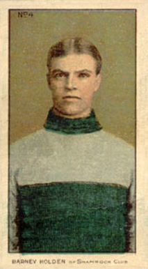 1910-11 Imperial Barney Holden #4 Hockey Card