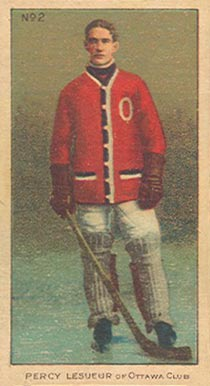 1910-11 Imperial Percy Lesueur #2 Hockey Card