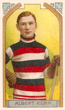 1911 Imperial Tobacco Co. Albert Kerr #10 Hockey Card