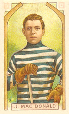 1911 Imperial Tobacco Co. Jack Macdonald #8 Hockey Card