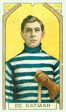 1911 Imperial Tobacco Co. Ed Oatman #5 Hockey Card