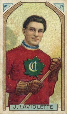 1911 Imperial Tobacco Co. Jack Laviolette #45 Hockey Card