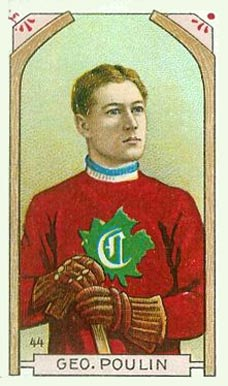 1911 Imperial Tobacco Co. George Poulin #44 Hockey Card