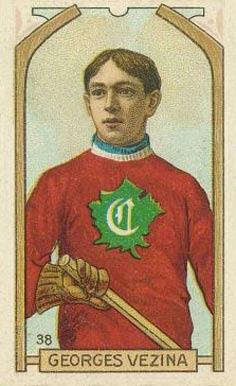 1911 Imperial Tobacco Co. Georges Vezina #38 Hockey Card