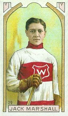 1911 Imperial Tobacco Co. Jack Marshall #29 Hockey Card