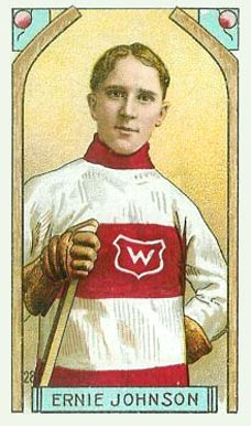 1911 Imperial Tobacco Co. Ernest Johnson #28 Hockey Card