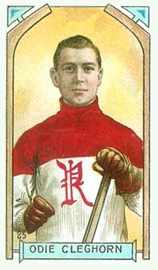 1911 Imperial Tobacco Co. Odie Cleghorn #25 Hockey Card