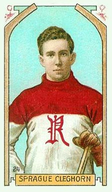 1911 Imperial Tobacco Co. Sprague Cleghorn #24 Hockey Card