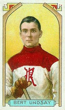 1911 Imperial Tobacco Co. Bert Lindsay #21 Hockey Card