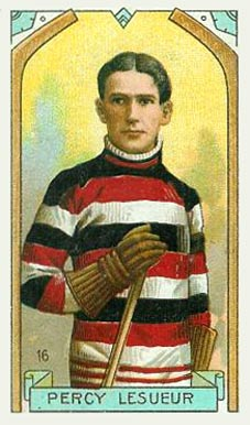 1911 Imperial Tobacco Co. Percy Lesueur #16 Hockey Card