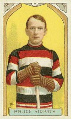 1911 Imperial Tobacco Co. Bruce Ridpath #14 Hockey Card