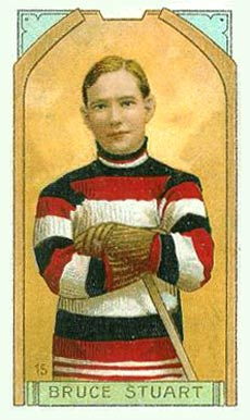 1911 Imperial Tobacco Co. Bruce Stuart #15 Hockey Card