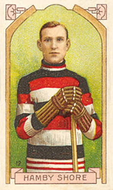1911 Imperial Tobacco Co. Hamby Shore #12 Hockey Card
