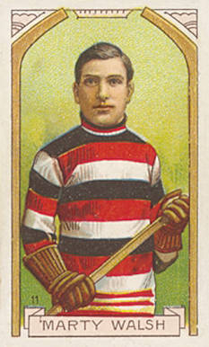 1911 Imperial Tobacco Co. Marty Walsh #11 Hockey Card