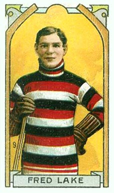 1911 Imperial Tobacco Co. Fred Lake #9 Hockey Card