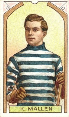 1911 Imperial Tobacco Co. Ken Mallen #7 Hockey Card