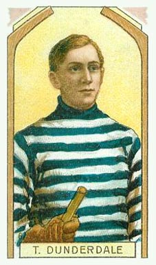1911 Imperial Tobacco Co. Tom Dunderdale #6 Hockey Card