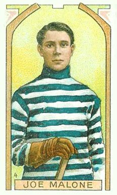 1911 Imperial Tobacco Co. Joe Malone #4 Hockey Card