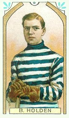 1911 Imperial Tobacco Co. Barney Holden #3 Hockey Card