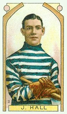1911 Imperial Tobacco Co. Joe Hall #2 Hockey Card