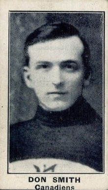 1912 C57 Don Smith #12 Hockey Card