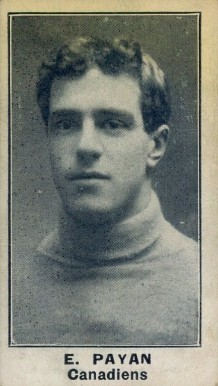 1912 C57 Eugene Payan #9 Hockey Card