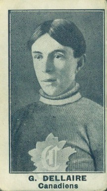 1912 C57 Henri Dallaire #7 Hockey Card