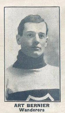1912 C57 Art Bernier #6 Hockey Card