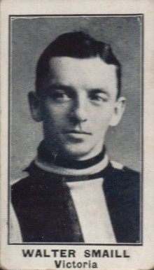 1912 C57 Walter Smaill #22 Hockey Card