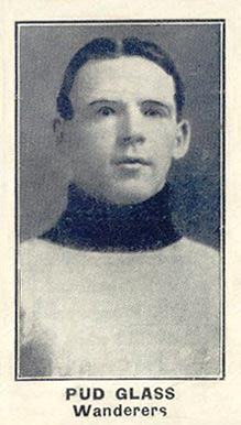 1912 C57 Frank Glass #21 Hockey Card