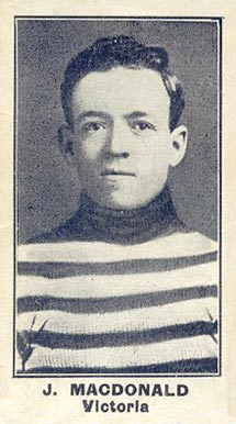 1912 C57 Jack Macdonald #17 Hockey Card