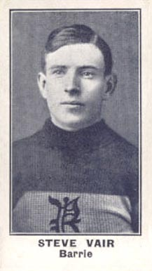 1912 C57 Steve Vair #10 Hockey Card