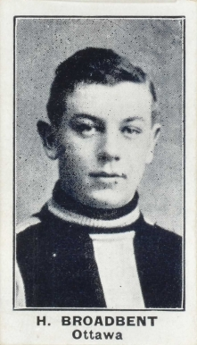 1912 C57 Punch Broadbent #2 Hockey Card