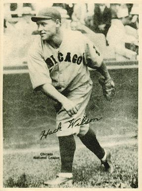 1929 Kashin Publications Hack Wilson #100 Baseball Card