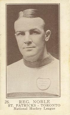 1923 William Patterson Reg Noble #26 Hockey Card
