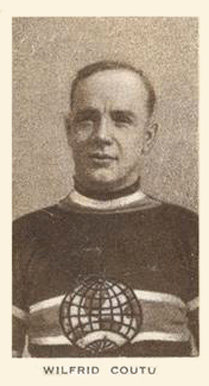 1924 Champ's Cigarettes Billy Coutu #19 Hockey Card