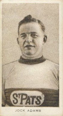 1924 Champ's Cigarettes Jack Adams #1 Hockey Card