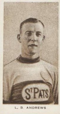 1924 Champ's Cigarettes Lloyd Andrews #2 Hockey Card