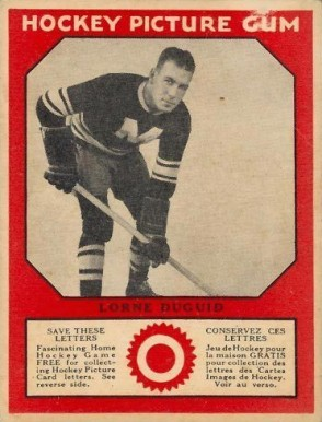 1933-34 Canadian Gum Lorne Duguid #19 Hockey Card