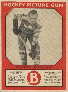 1933-34 Canadian Gum Clarence Day #17 Hockey Card