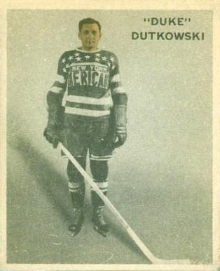 1933 Ice Kings Duke Dutkowski #56 Hockey Card
