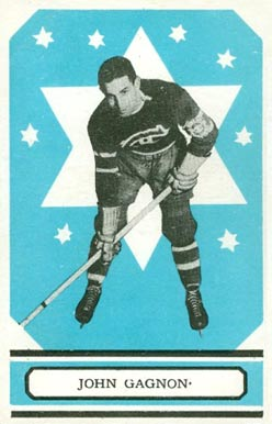 1933 O-Pee-Chee Johnny Gagnon #19 Hockey Card