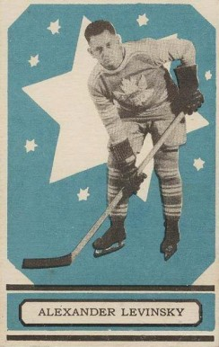1933 O-Pee-Chee Alex Levinsky #11 Hockey Card