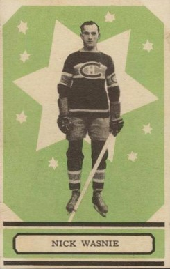 1933 O-Pee-Chee Nick Wasnie #47 Hockey Card