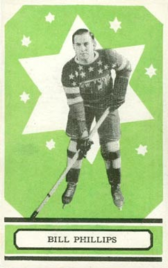 1933 O-Pee-Chee Bill Phillips #43 Hockey Card