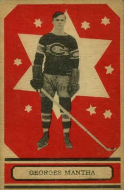 1933 O-Pee-Chee Georges Mantha #22 Hockey Card