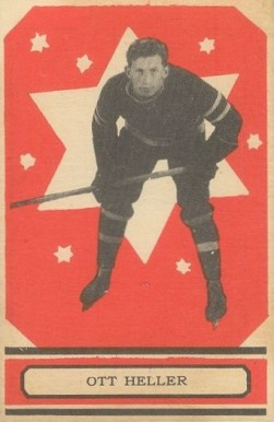 1933 O-Pee-Chee Ott Heller #16 Hockey Card