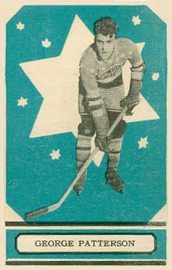 1933 O-Pee-Chee George Patterson #14 Hockey Card